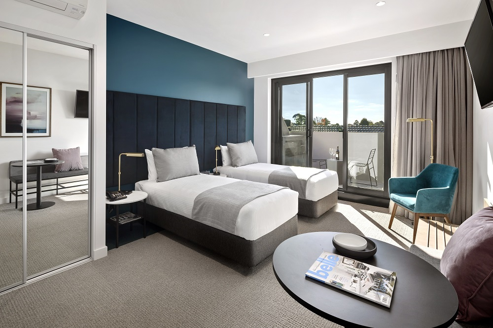 Quest Burwood East | Twin Bedding