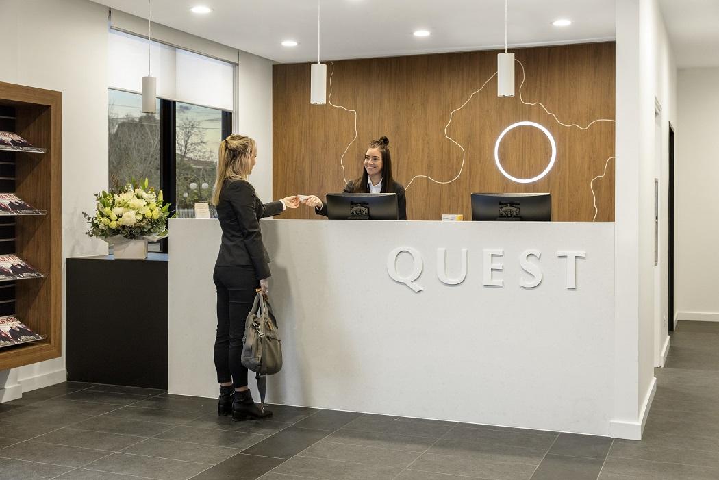 Quest Maribyrnong Reception
